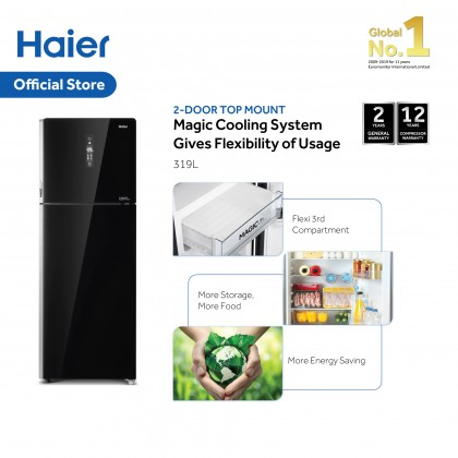 Haier 2 Door 319L Top Mount Refrigerator HRF-339IHG