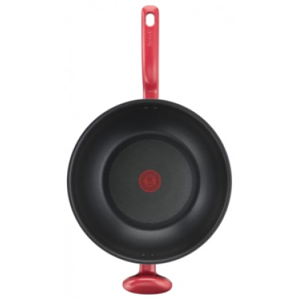 Tefal Cookware So Chef 32cm Wokpan with lid G13598